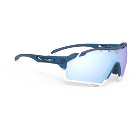 Rudy Project Cutline Lunettes, pacific blue matt/multilaser ice